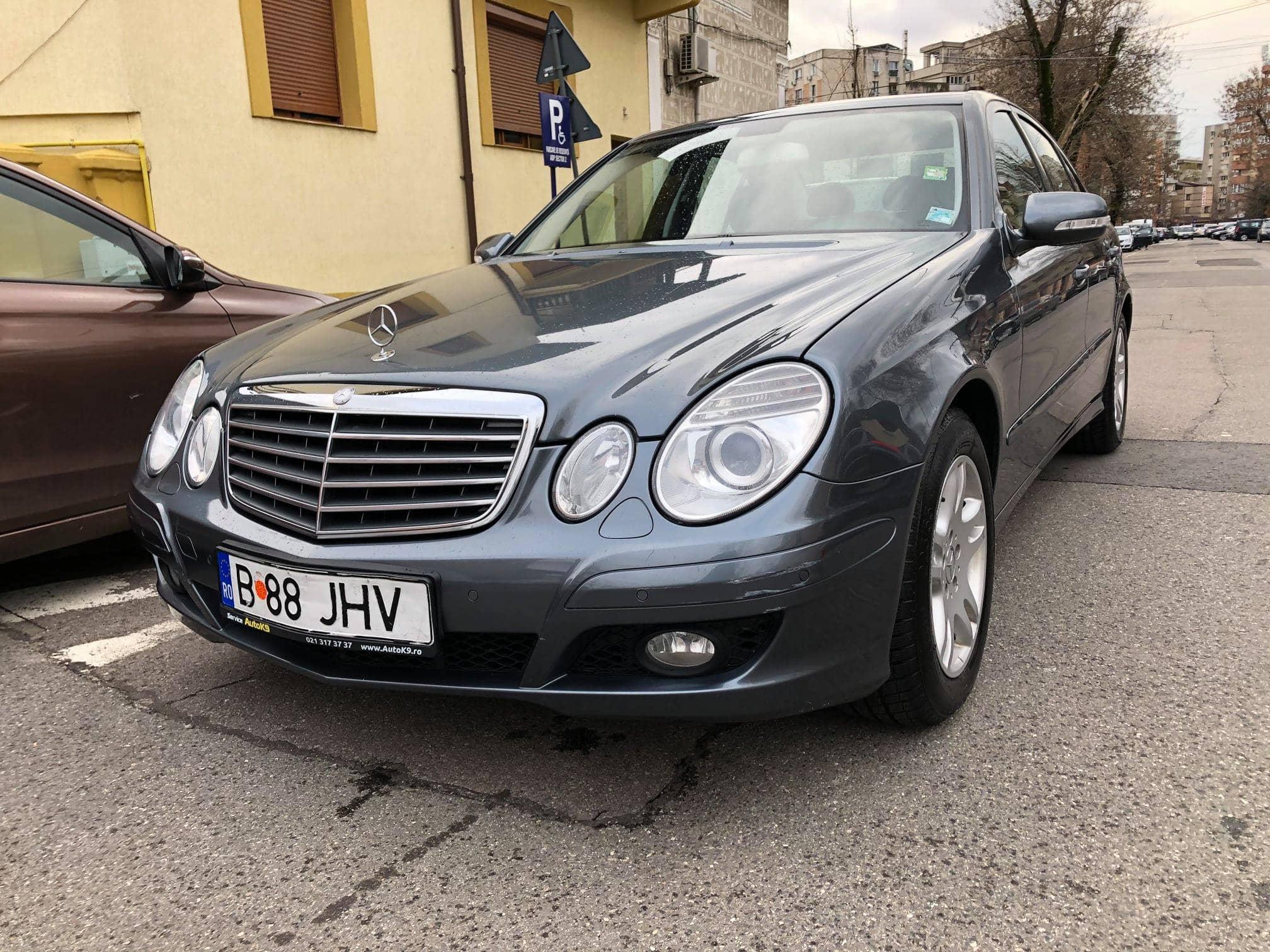 O altfel de verificare Mercedes w211 E220 cdi, 2008, automat, 136.000 km