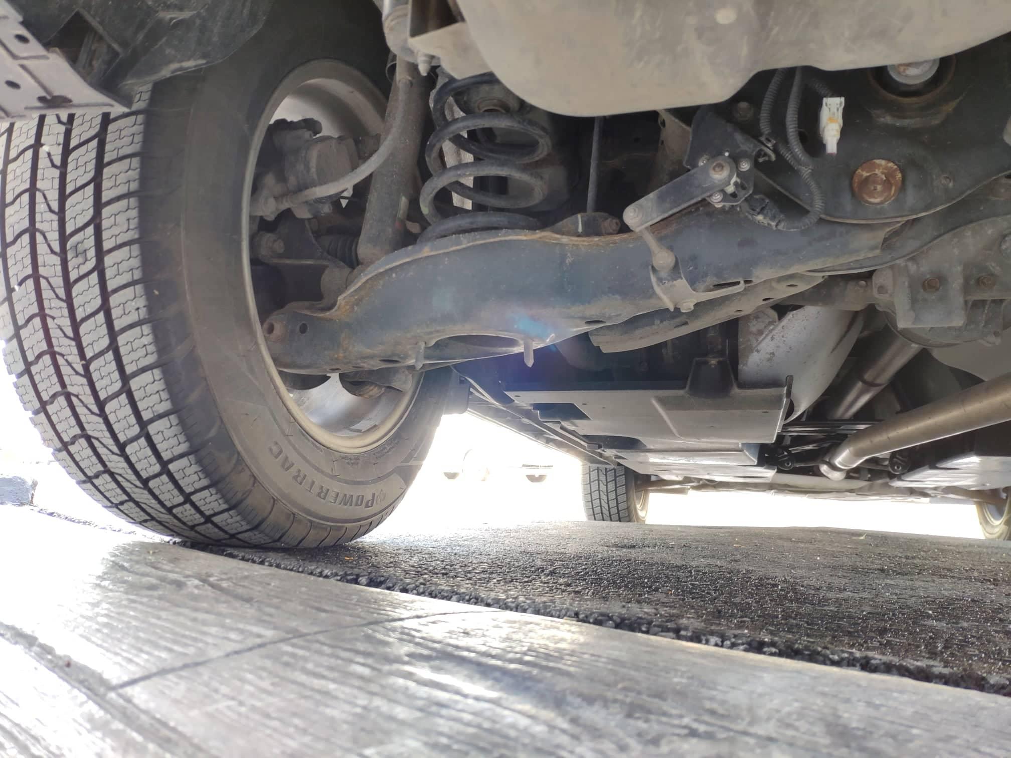 verificare masina second hand mazda cx-5 vedere suspensie