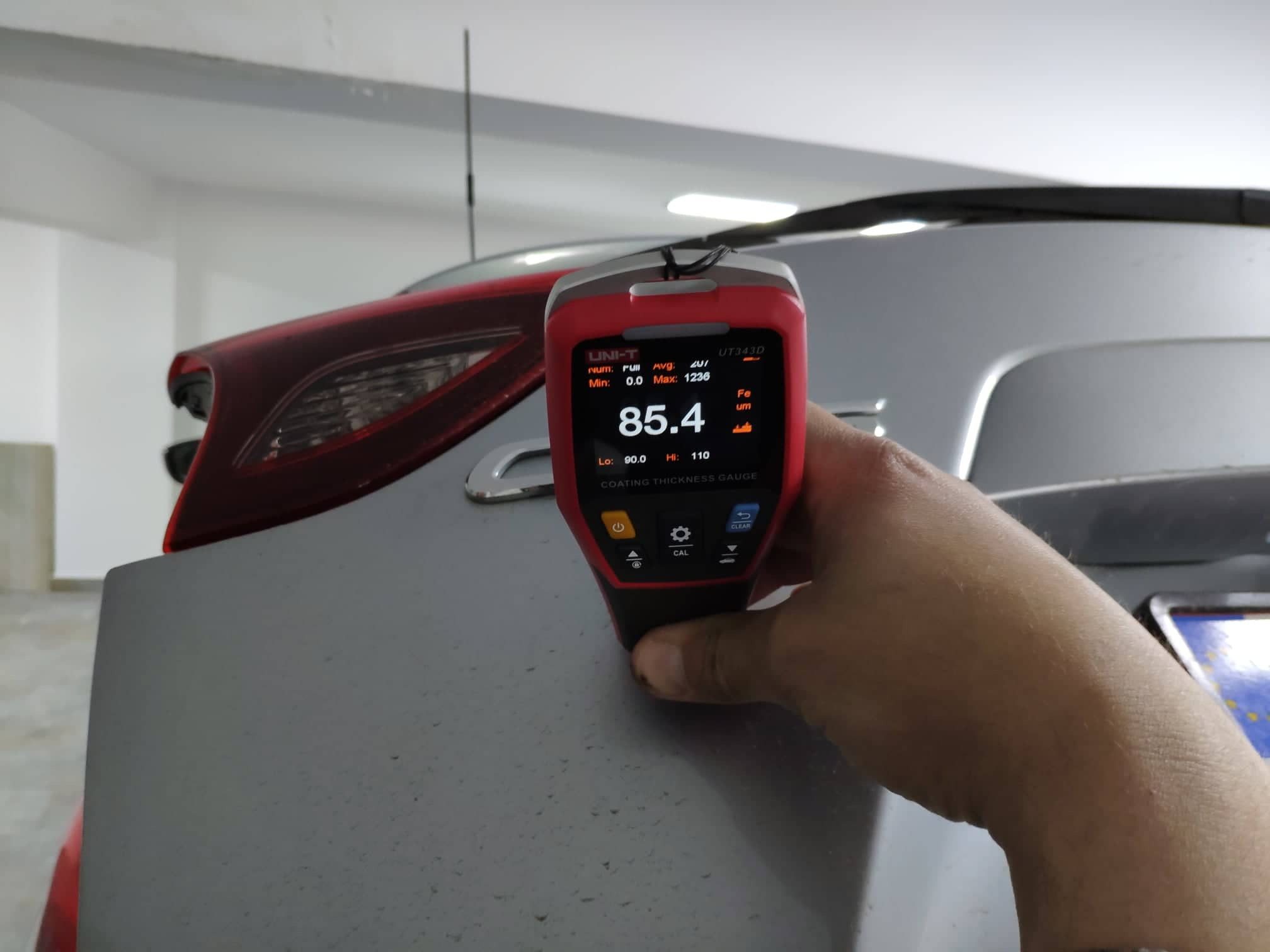 verificare masina second hand mazda cx-5 verificare strat vopsea