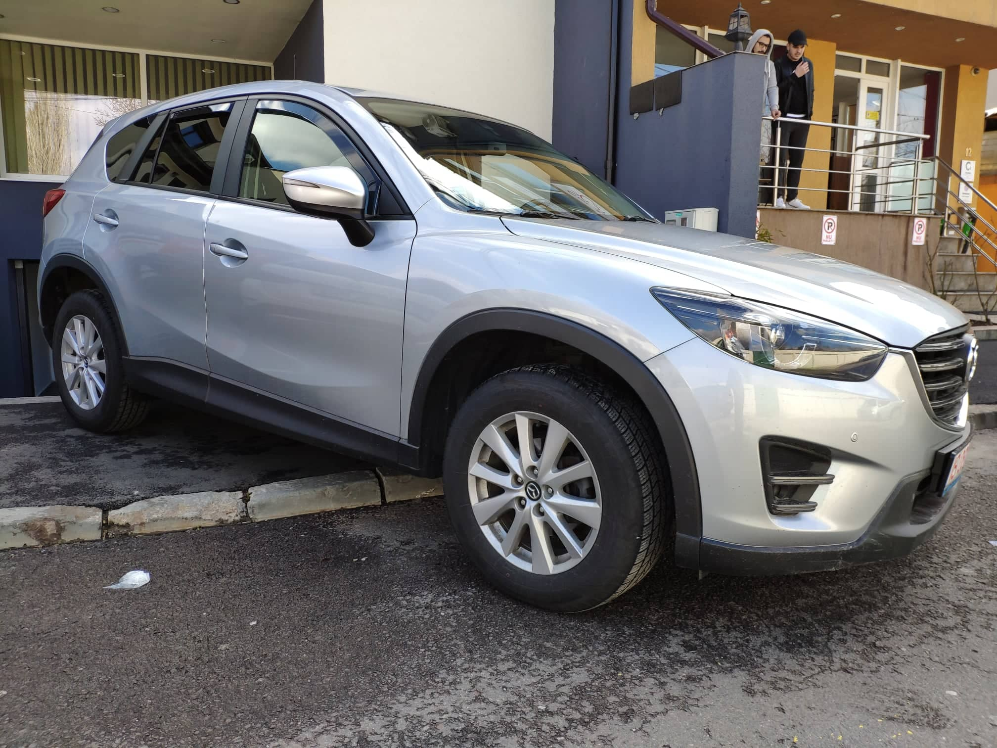 verificare masina second hand mazda cx-5 fata
