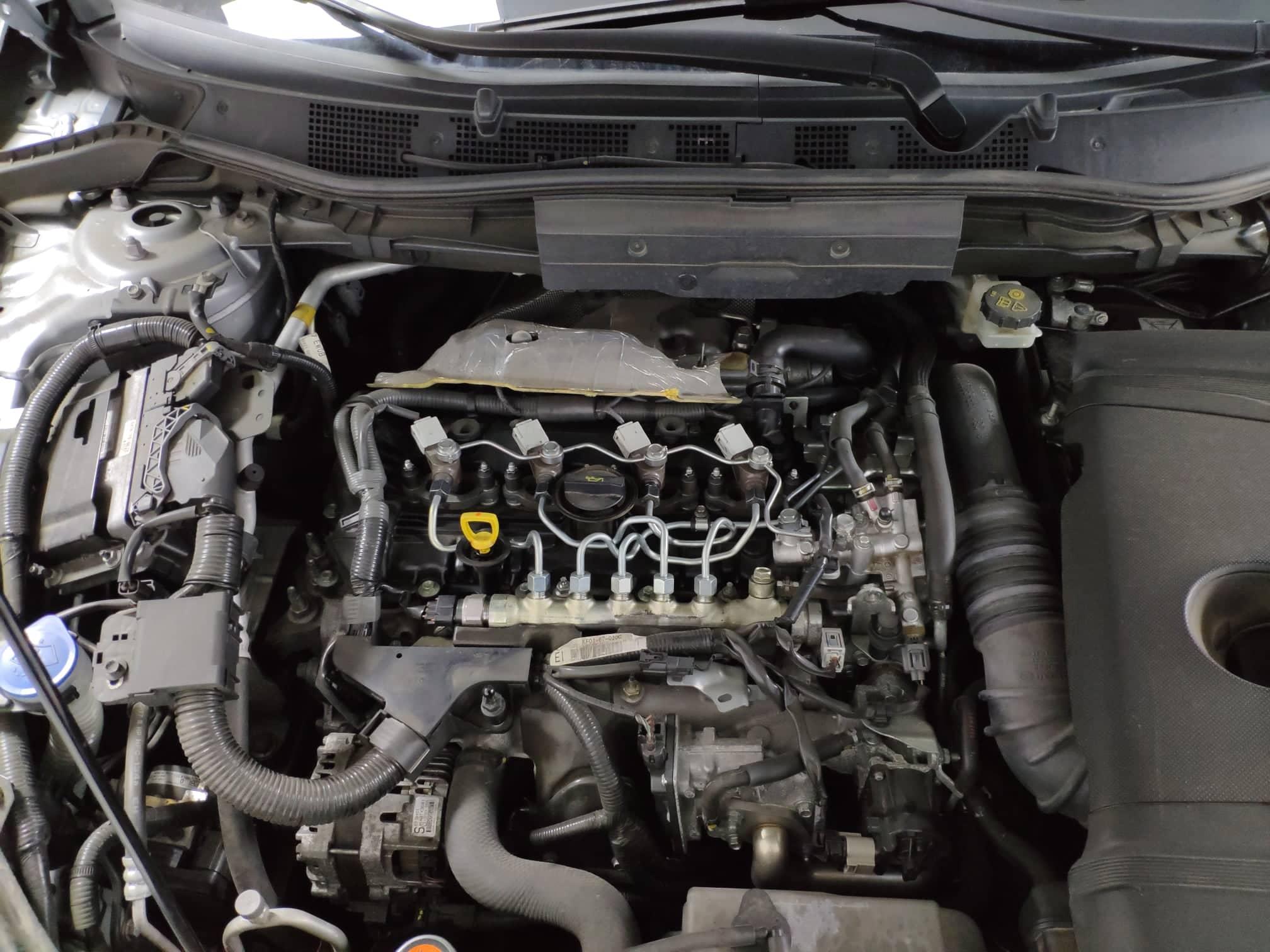 verificare masina second hand mazda cx-5 vedere motor