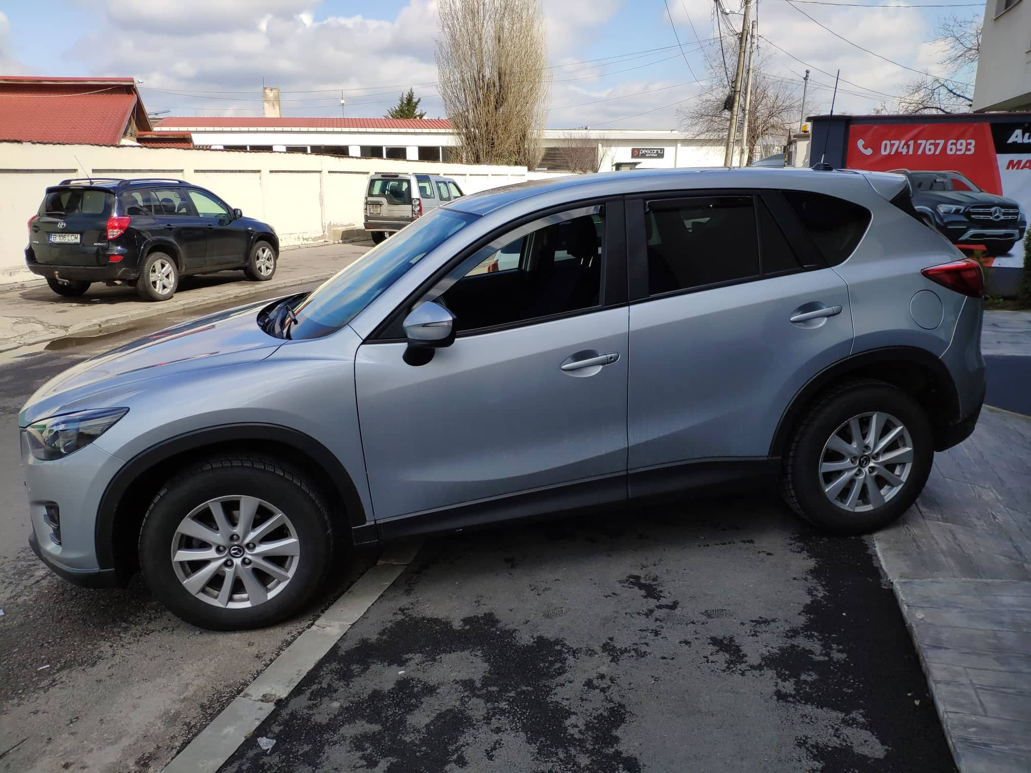 verificare masina second hand mazda cx-5 lateral