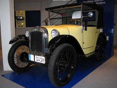 BMW Dixi, prima masina produsa de BMW
