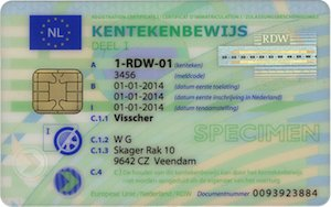 Card masina Olanda