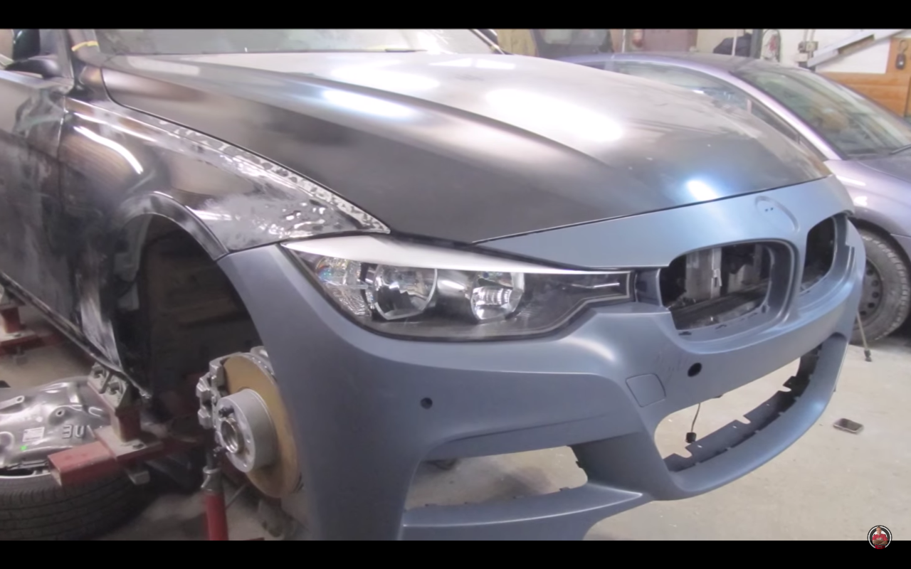 BMW Seria 3 lonjeroane strambe 10