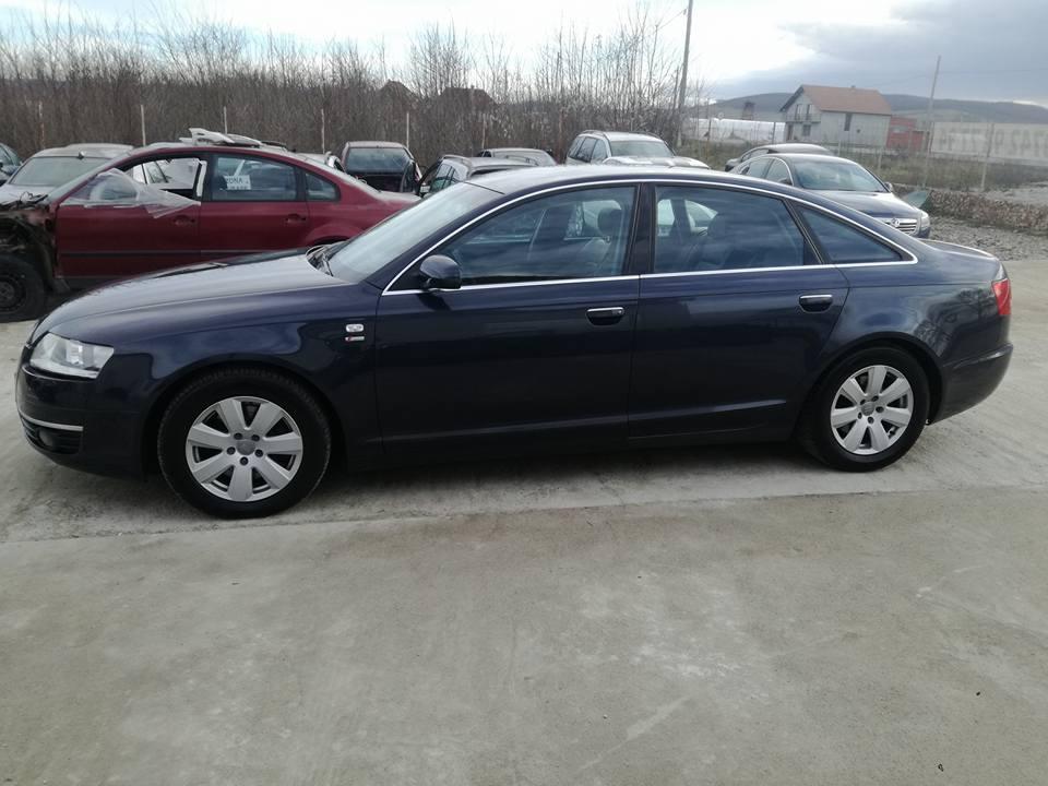 Audi A6 taiat din 2 bucati si sudat, isprava de nota 10