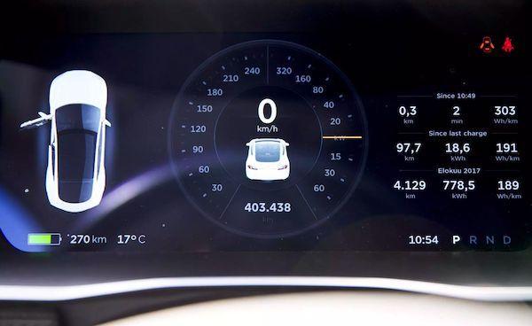 Tesla Model S cu 400.000 KM