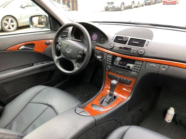 mercedes w211 e220 cdi 2008 automat vedere bord din spate