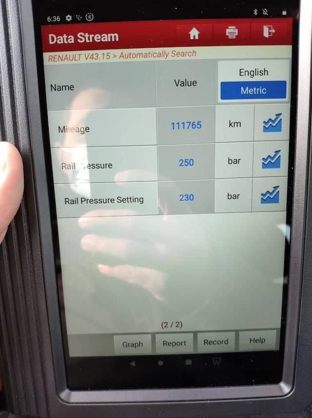 renault clio iii verificare inspectorauto tester