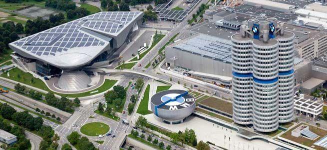 Sediul BMW din Munchen