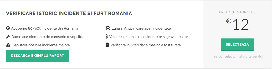 verificare istoric incidente si furt romania - inspectorauto.ro