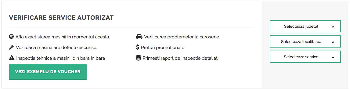 verificare service autorizat