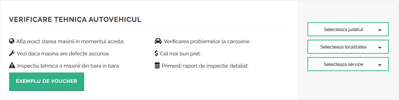 verificare tehnica masina in service autorizat  - inspectorauto.ro